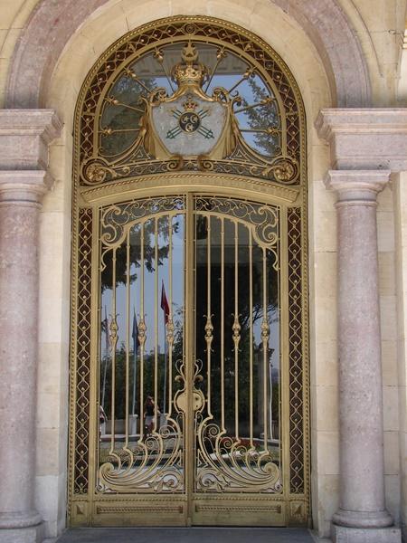 Camlı demir kapı modelleri