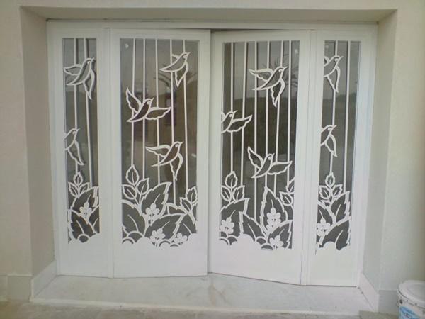Düz demir kapı modelleri