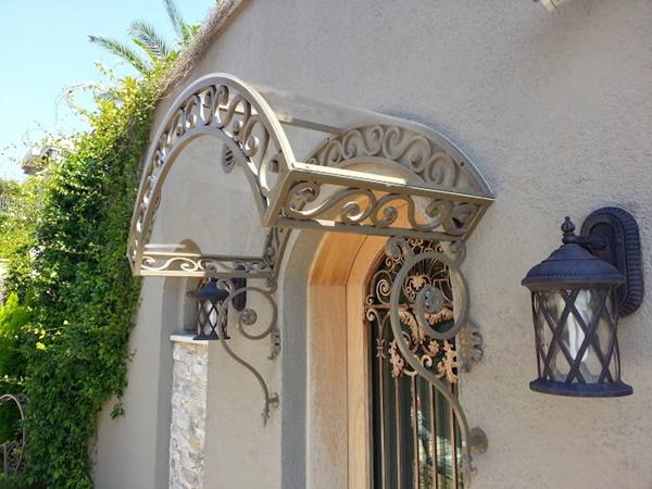 Kapı üstü sundurma modelleri