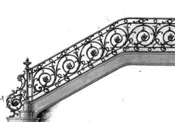 Ferforje Merdiven Korkuluğu Modelleri
